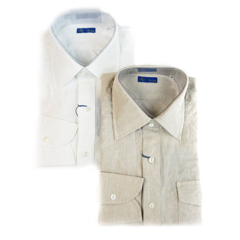 Ring Jacket Linen Safari Shirt