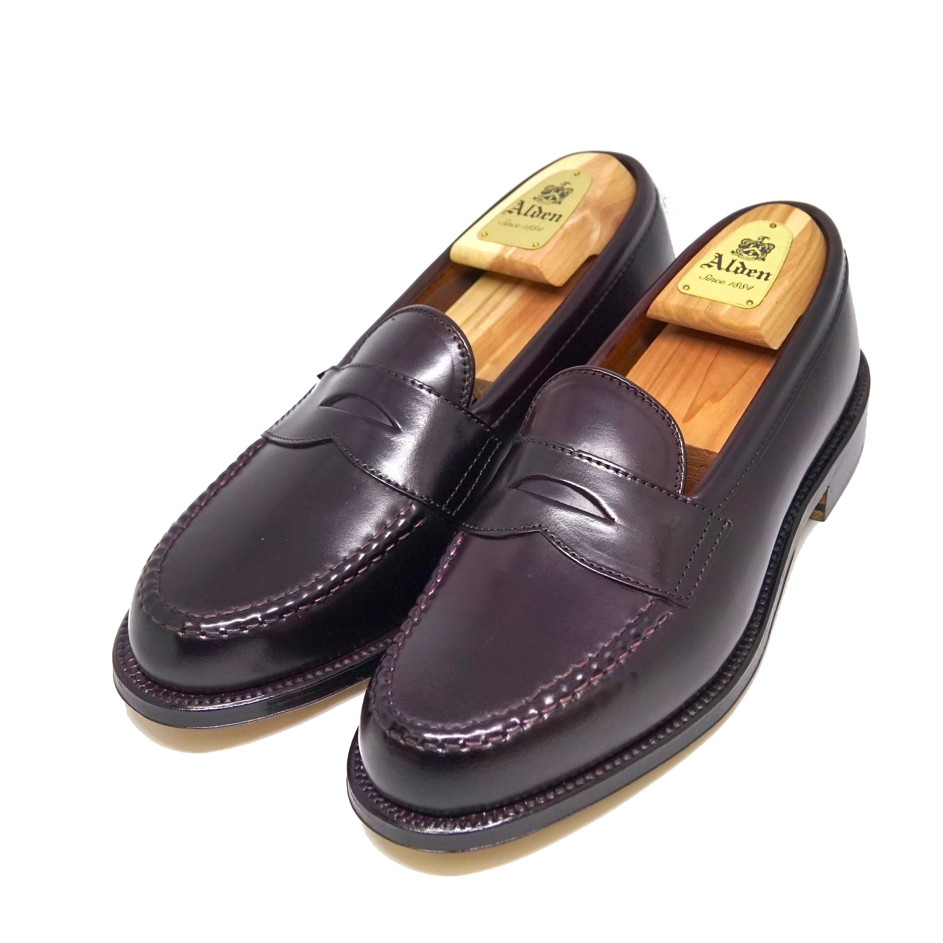 Alden 986 Penny Loafer Shell Cordovan