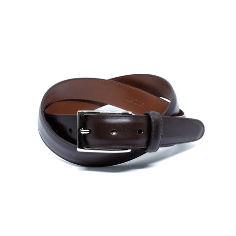 ALDEN MB0115 30mm Dark Brown Calf Belt & Buckle