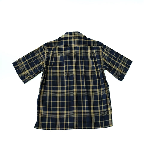 Camoshita Checkered Short Sleeve Shirt ; SH20105