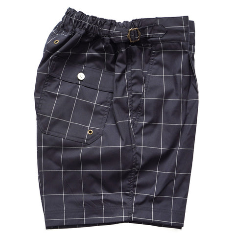COLONY CLOTHING POOL SIDE WINDOW PANE SHORTS; CC20-SW06
