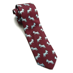 Drakes Tie - Red Dog
