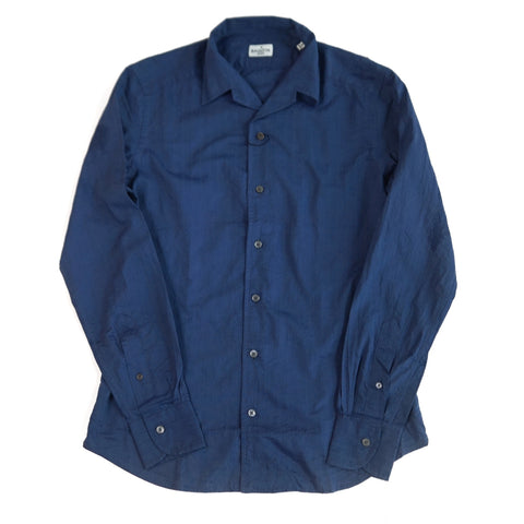 Bagutta Open Collar Johnny Shirt