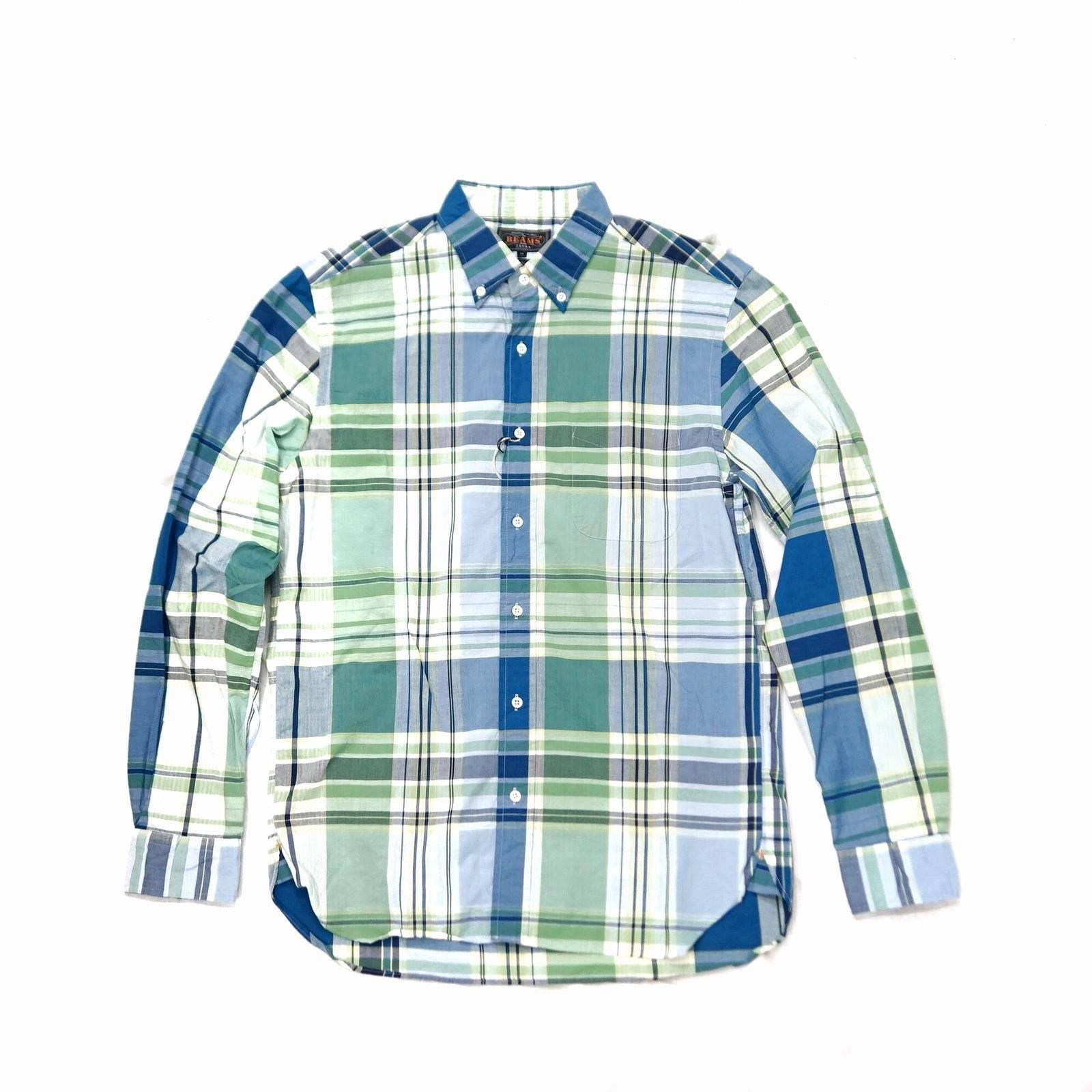 BEAMS + Big Check Shirt