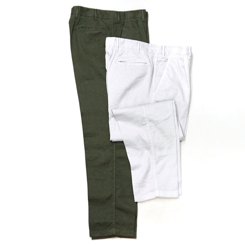 The Gigi Linen Mixed Chino ; Santiago K711