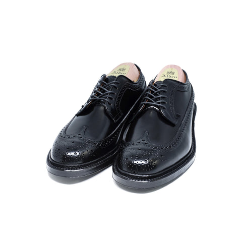ALDEN 9751 Long Wing Boucher Black Shell Cordovan