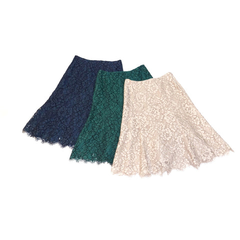 United Arrows Lace Skirt