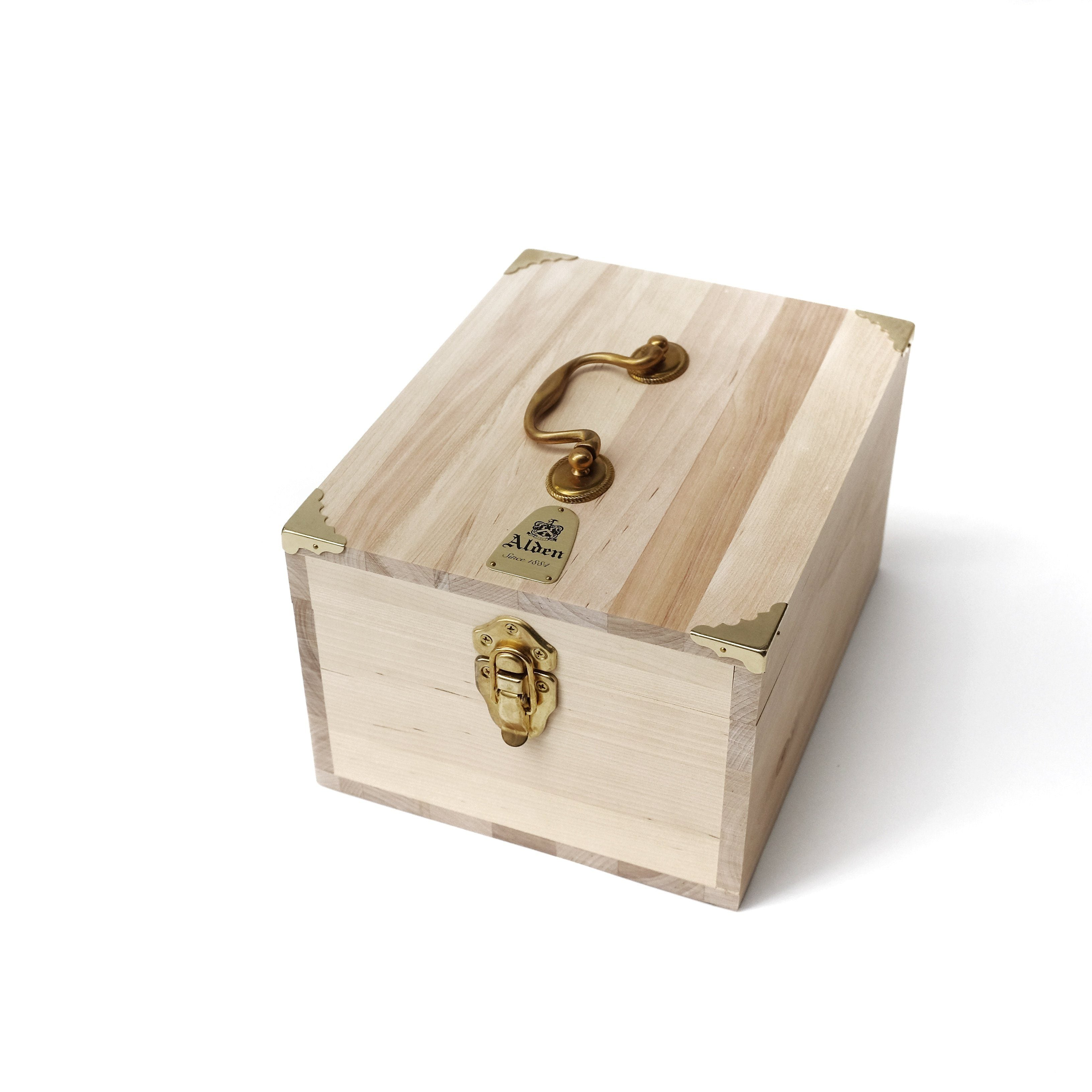 ALDEN SC0340 Wooden Valet Box