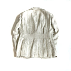 Ring Jacket Linen Safari Jacket