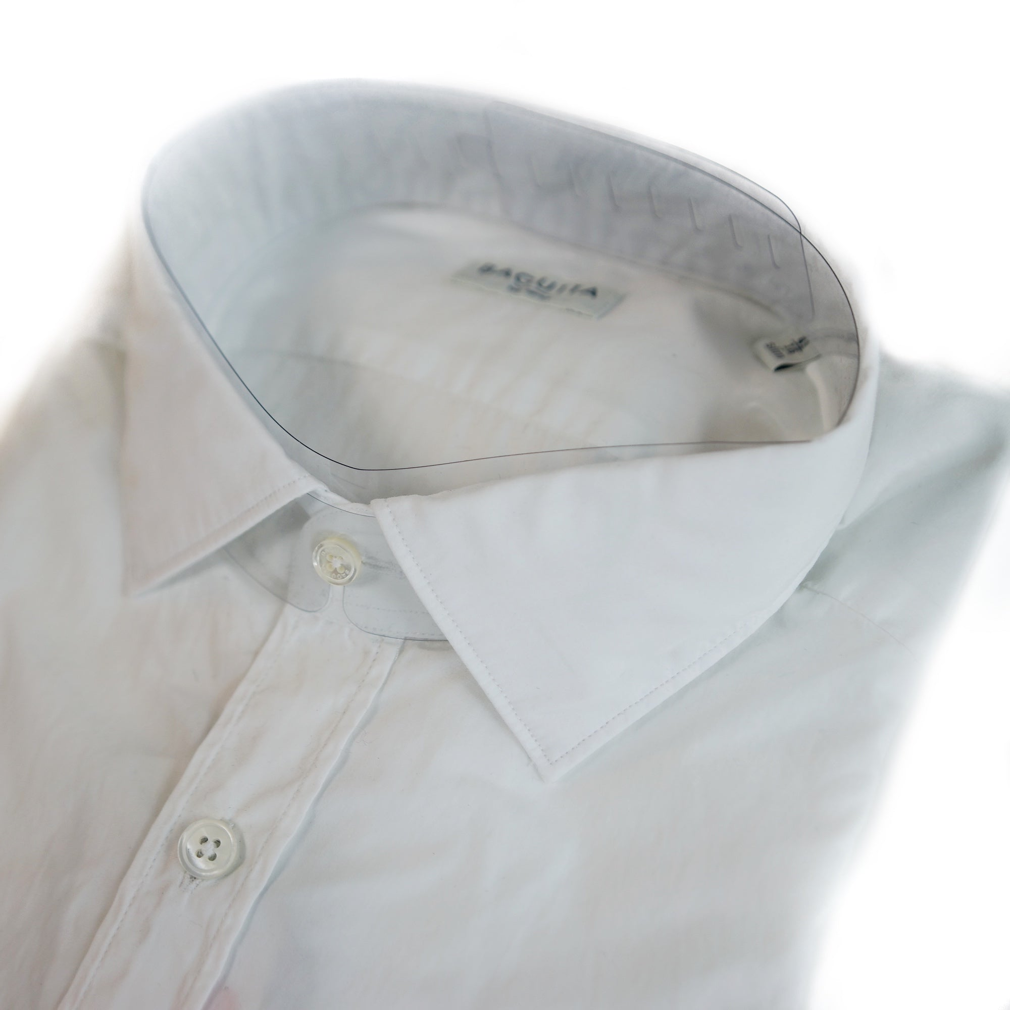 Bagutta Berlino White Broad Cloth Dress Shirt