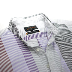 BEAMS + Vertical Crazy Stripe Shirt