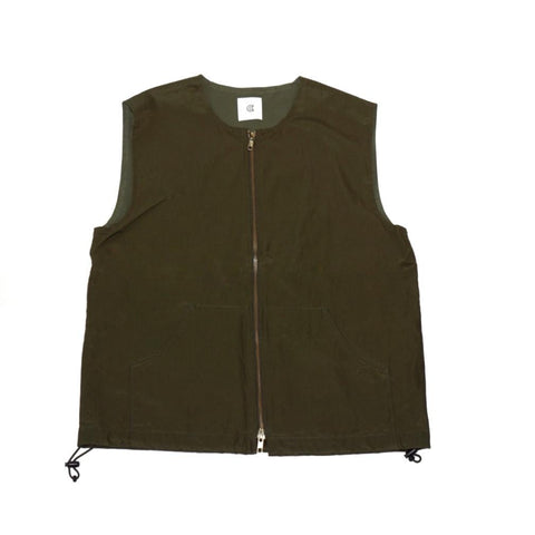 Colony Clothing Zip Vest; NAVY/OLIVE