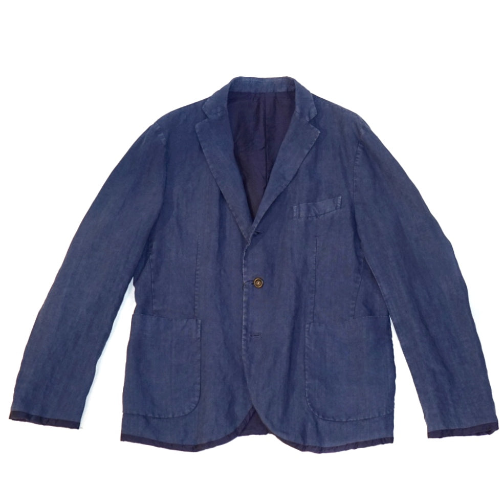 The Gigi Navy Linen Jacket ; BOWIE K603