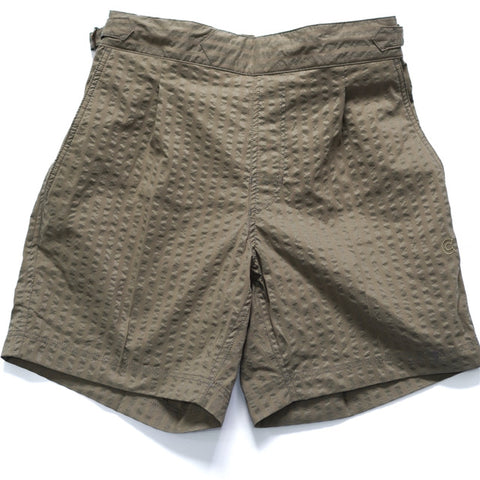 COLONY CLOTHING / POOL SIDE SHORTS WIDE SEERSUCKER  / CC20-SW03
