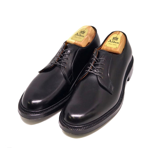 Alden 9901 Plain Toe Blucher Shell Cordovan