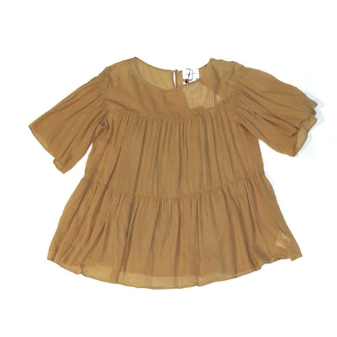 United Arrows Beige Blouse
