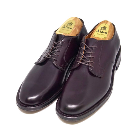 Alden X Colony Clothing A8402F Plain Toe Blucher Unlined Vamp