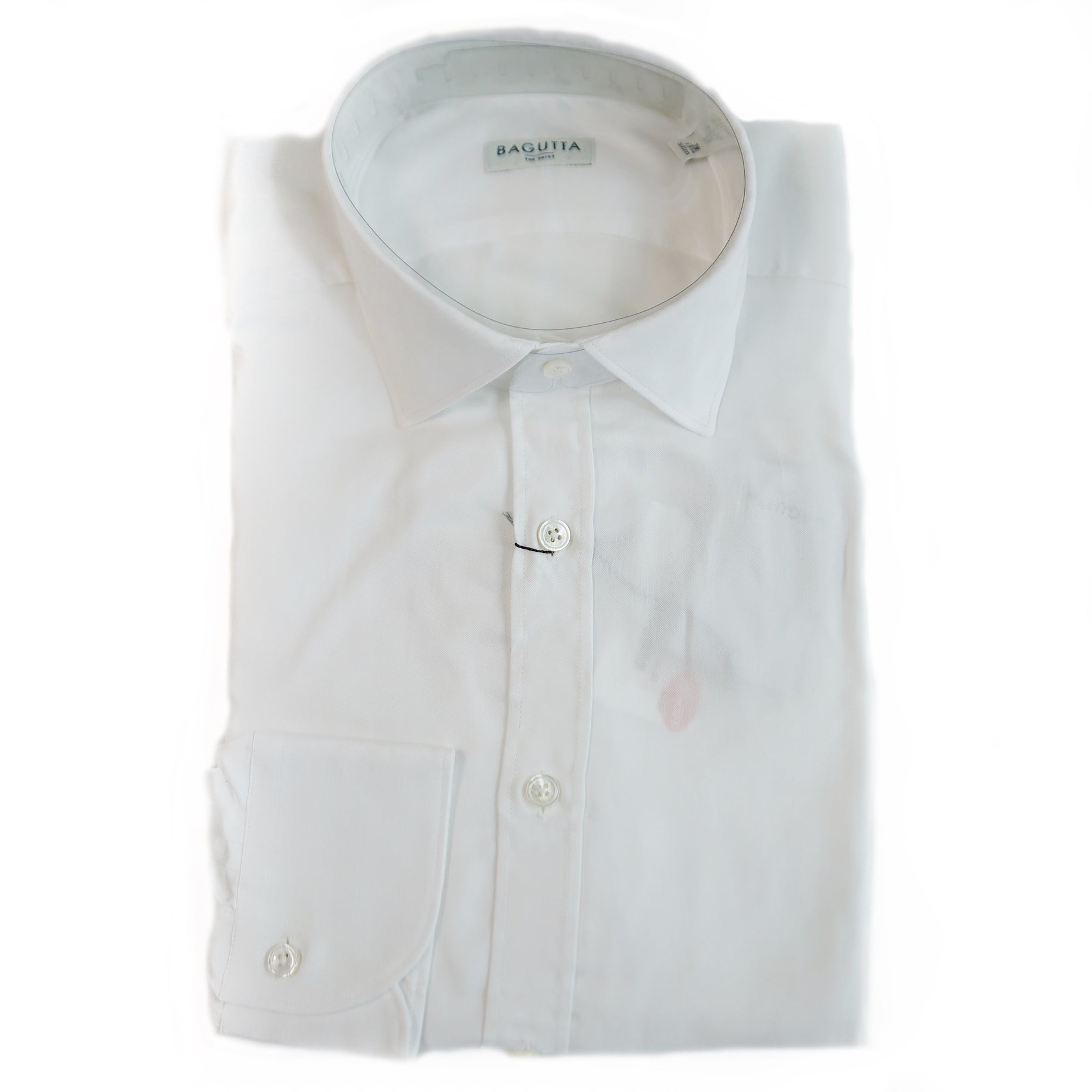 Bagutta White Bberlinok Dress Shirt