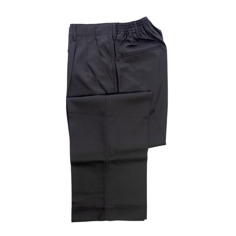 COLONY CLOTHING / TWO PLEATS WIDE RIP STOP TROUSERS  / CC21-PT02