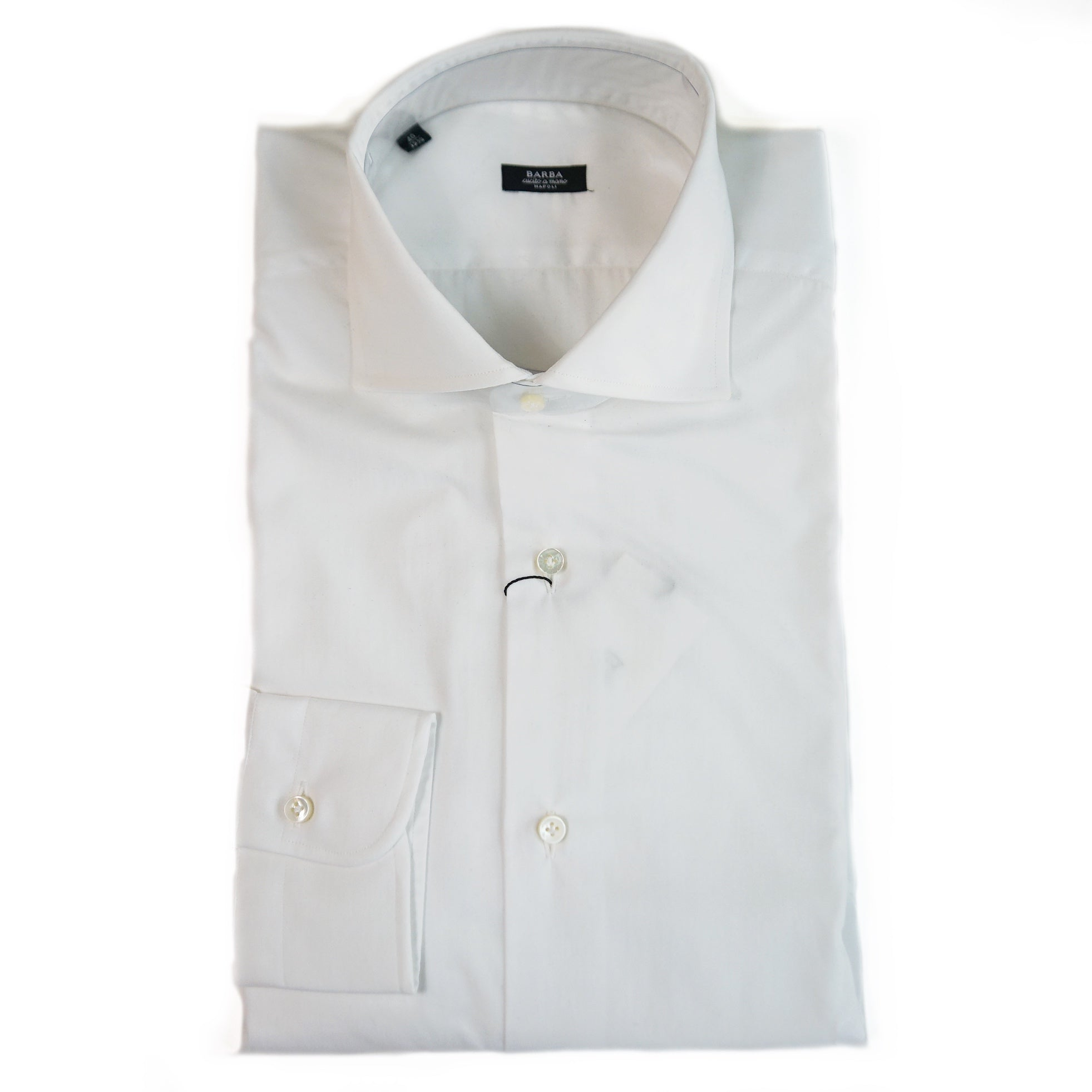 Barba White Shirt