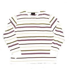 BEAMS + Border Pocket Stripe Tee