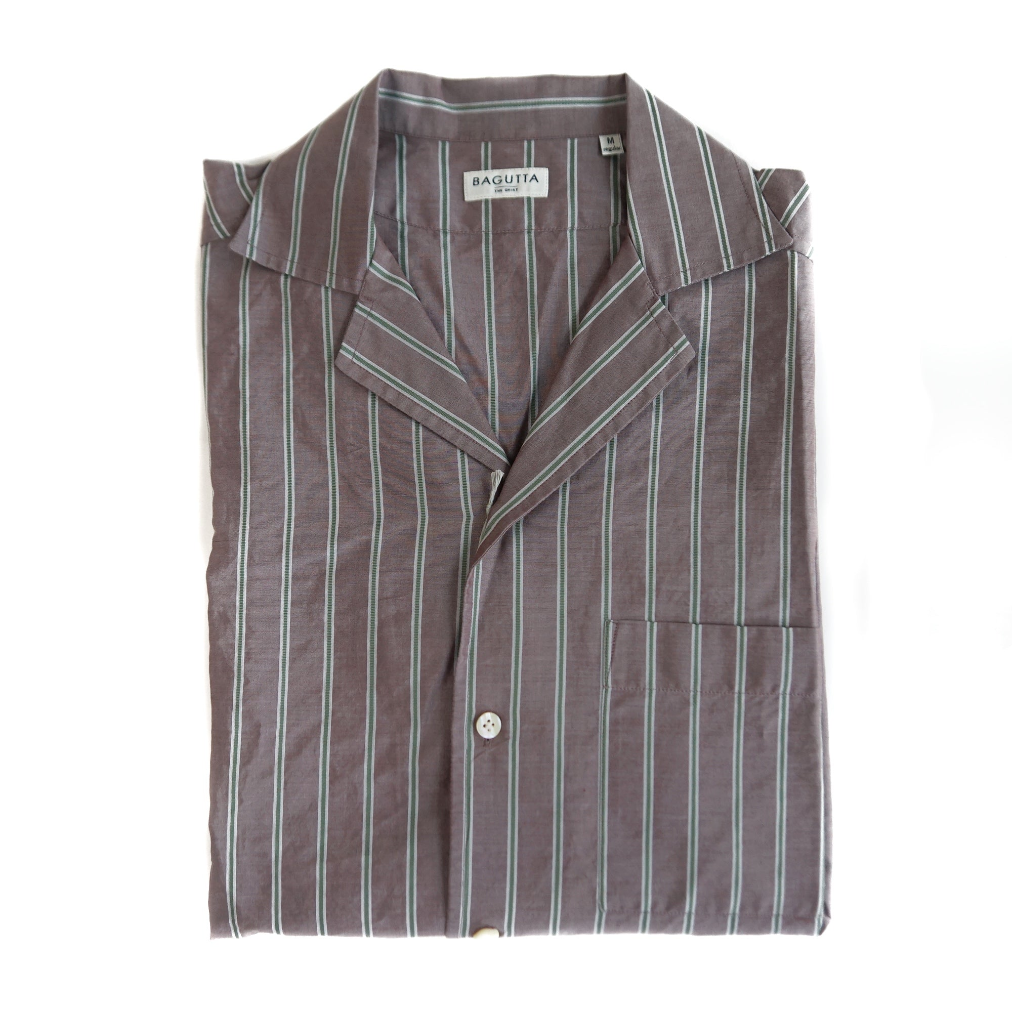 Bagutta Open Collar Shirt ; ALOHAK