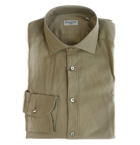 Bagutta Beige Dress Shirt