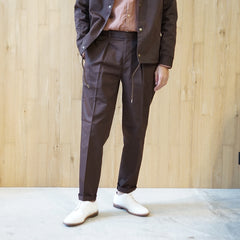 COLONY CLOTHING / ONE PLEATED PERENNIAL TROUSERS / CC20FW-PT02