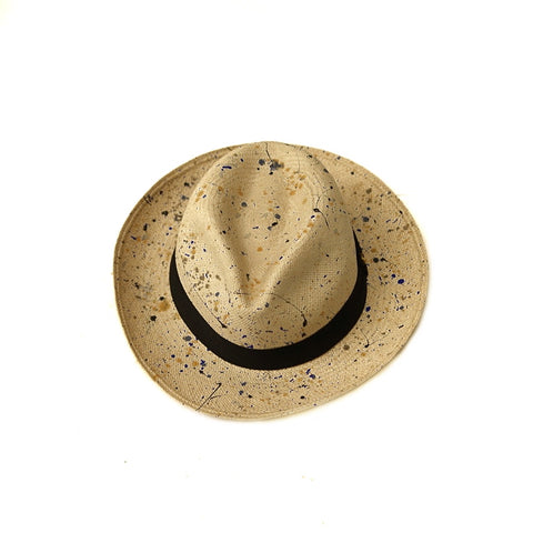 COLONY CLOTHING Panama Painted Hat