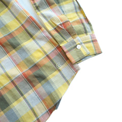 COLONY CLOTHING / POOL SIDE SHIRT MADRAS CHECKS / CC21-SH02-2