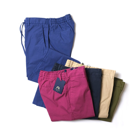 GERMANO / COTTON TRAVEL PANTS / 252BG29120