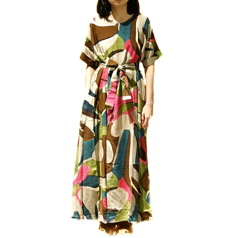 Xacus Multi Coloured Dress ; 6408