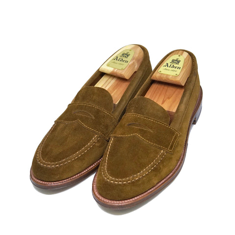 Alden6243F Penny Loafer Unlined Vamp