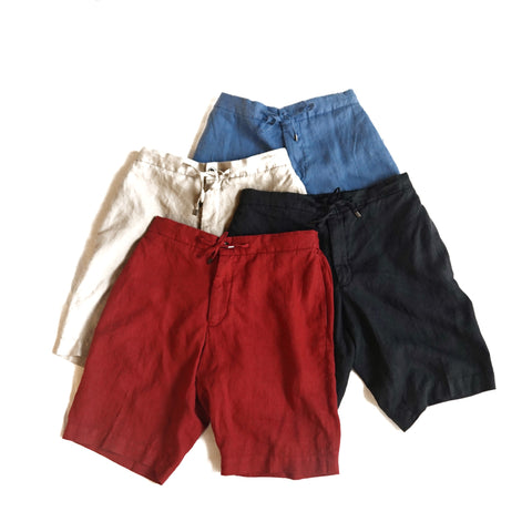 Germano Linen Shorts