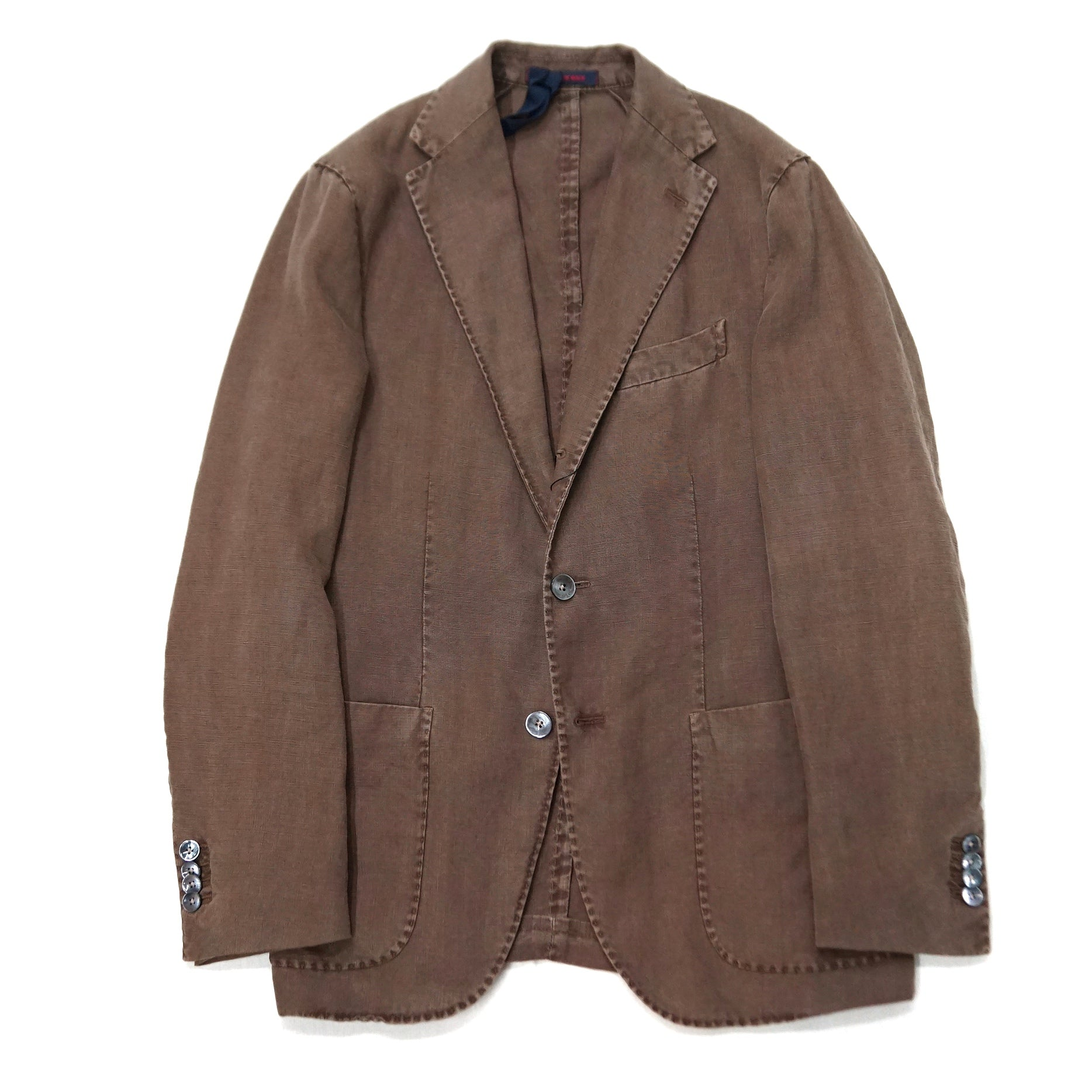 The Gigi Brown Linen Jacket ; ART K603