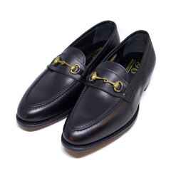 George Cleverley / The Colony Black Calf Loafers