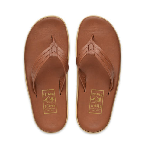 Island Slipper Pre-Order; Classic Leather Whiskey Thong