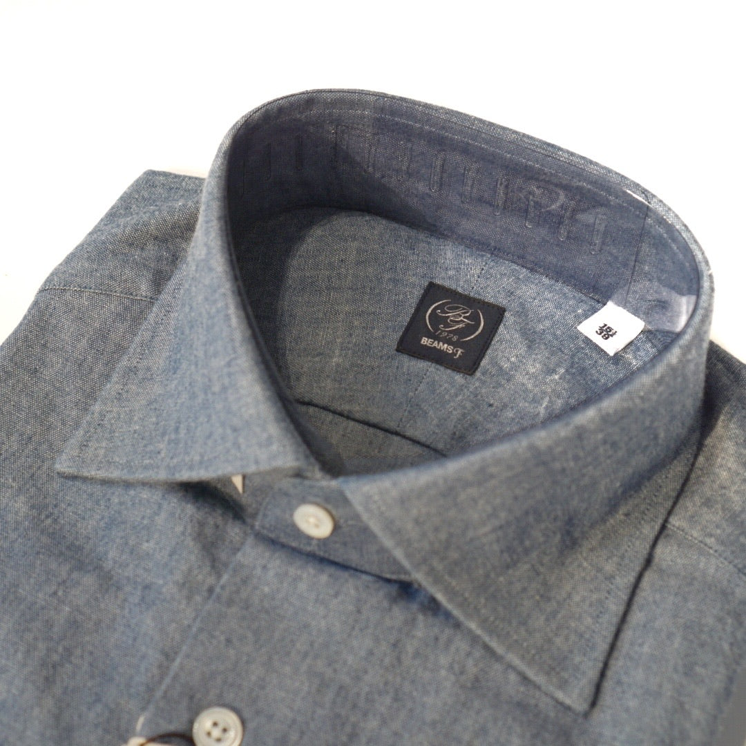 Beams F Chambray Shirt