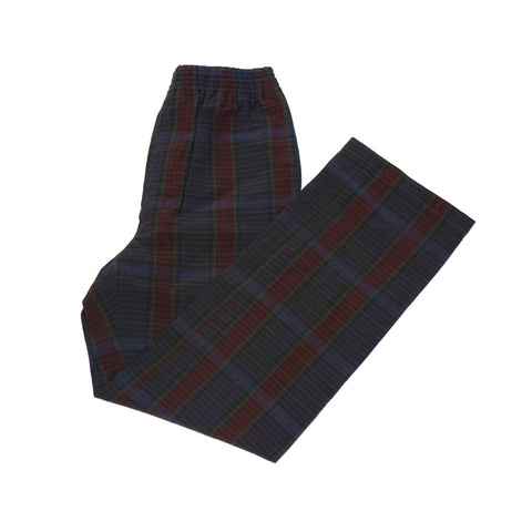 Camoshita United Arrows Plaid Box Trousers