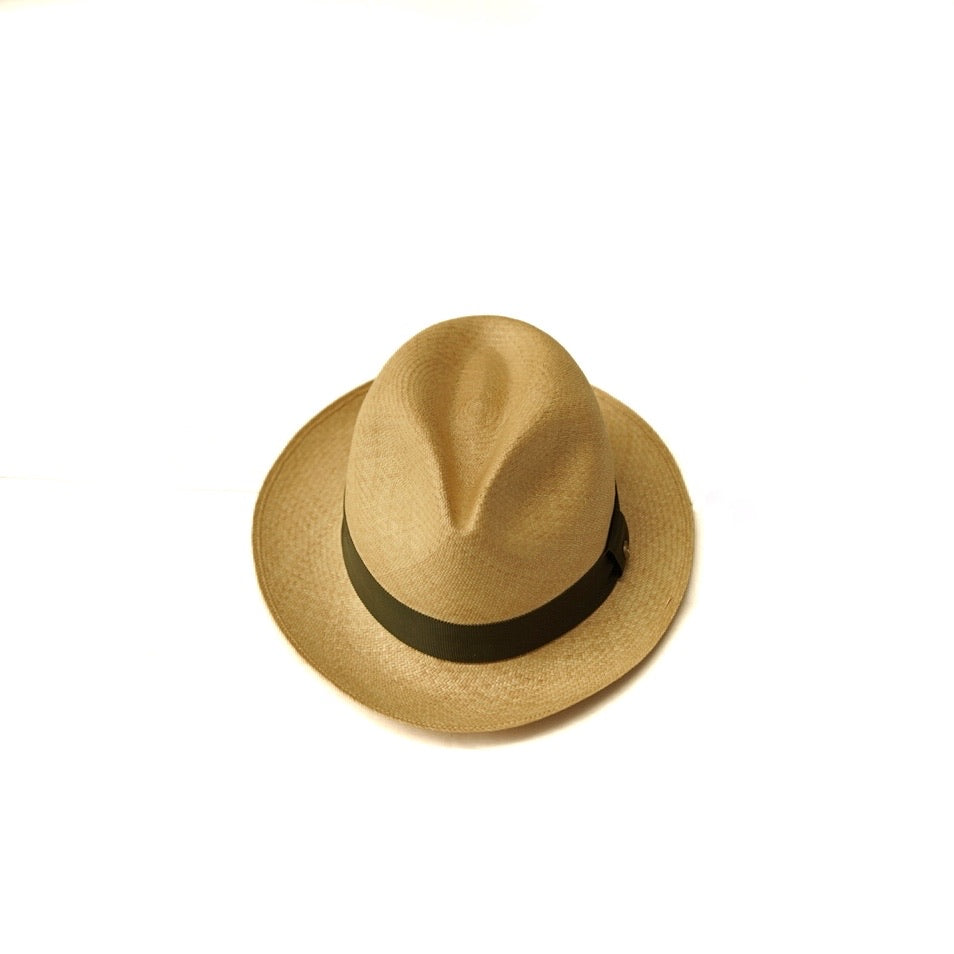 COLONY CLOTHING Green Panama Hat
