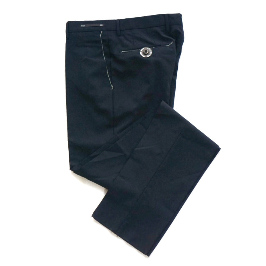 PT01 Navy Business Wool Pants; 37-0052