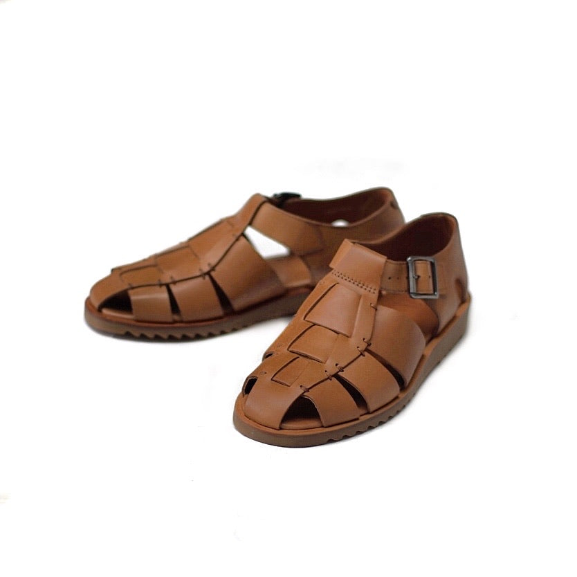 Paraboot Pacific Cognac Sandals