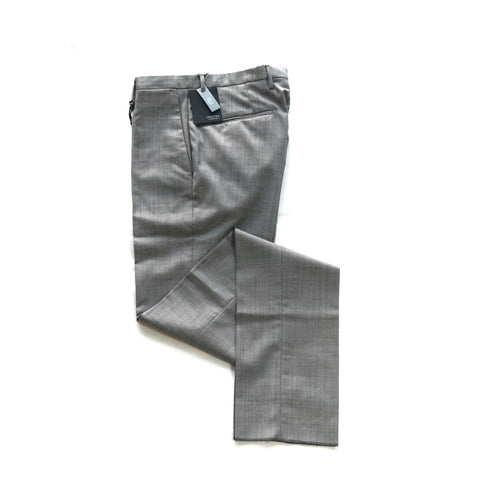 Incotex Slim Fit Light Grey Pants; 1010R