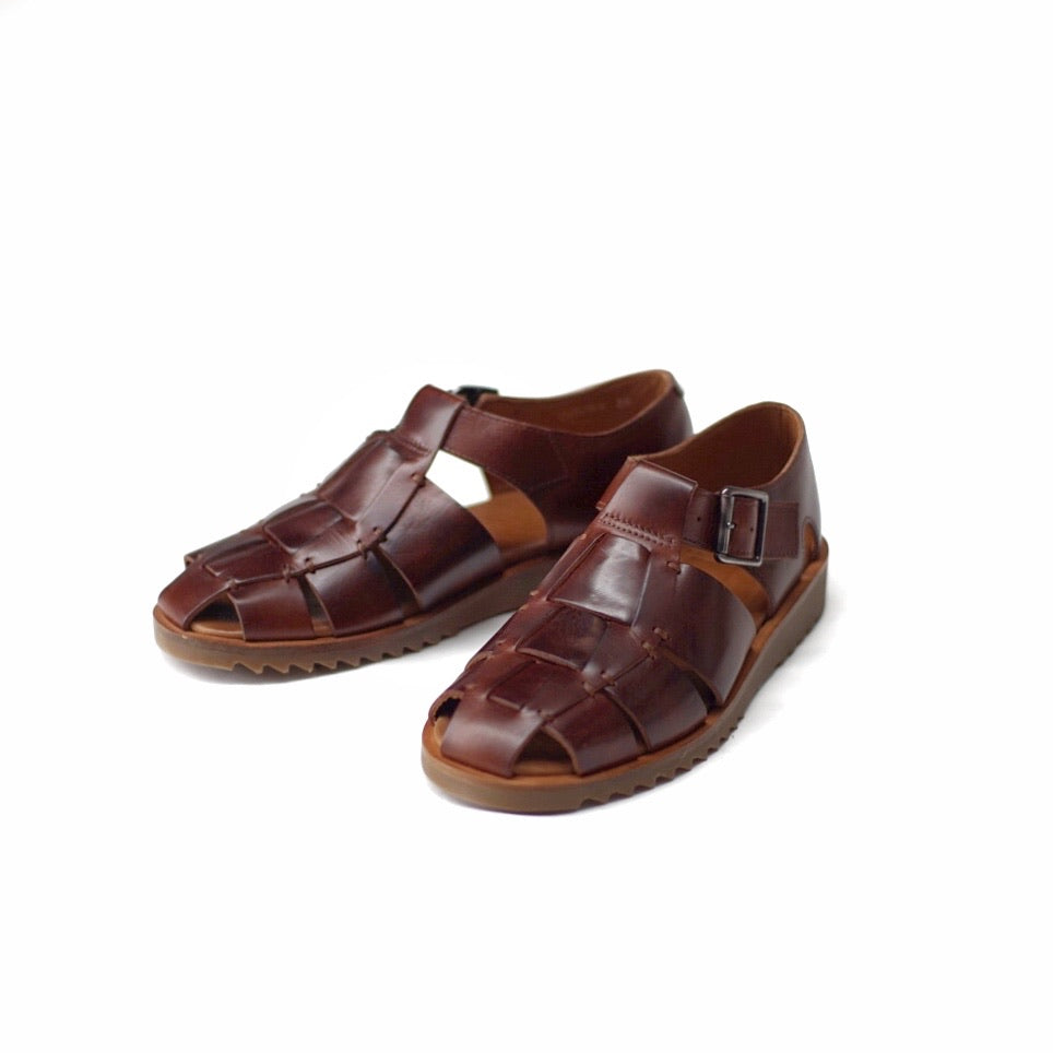 Paraboot Pacific Marron Sandals