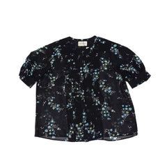 United Arrows Floral Blouse; 18109