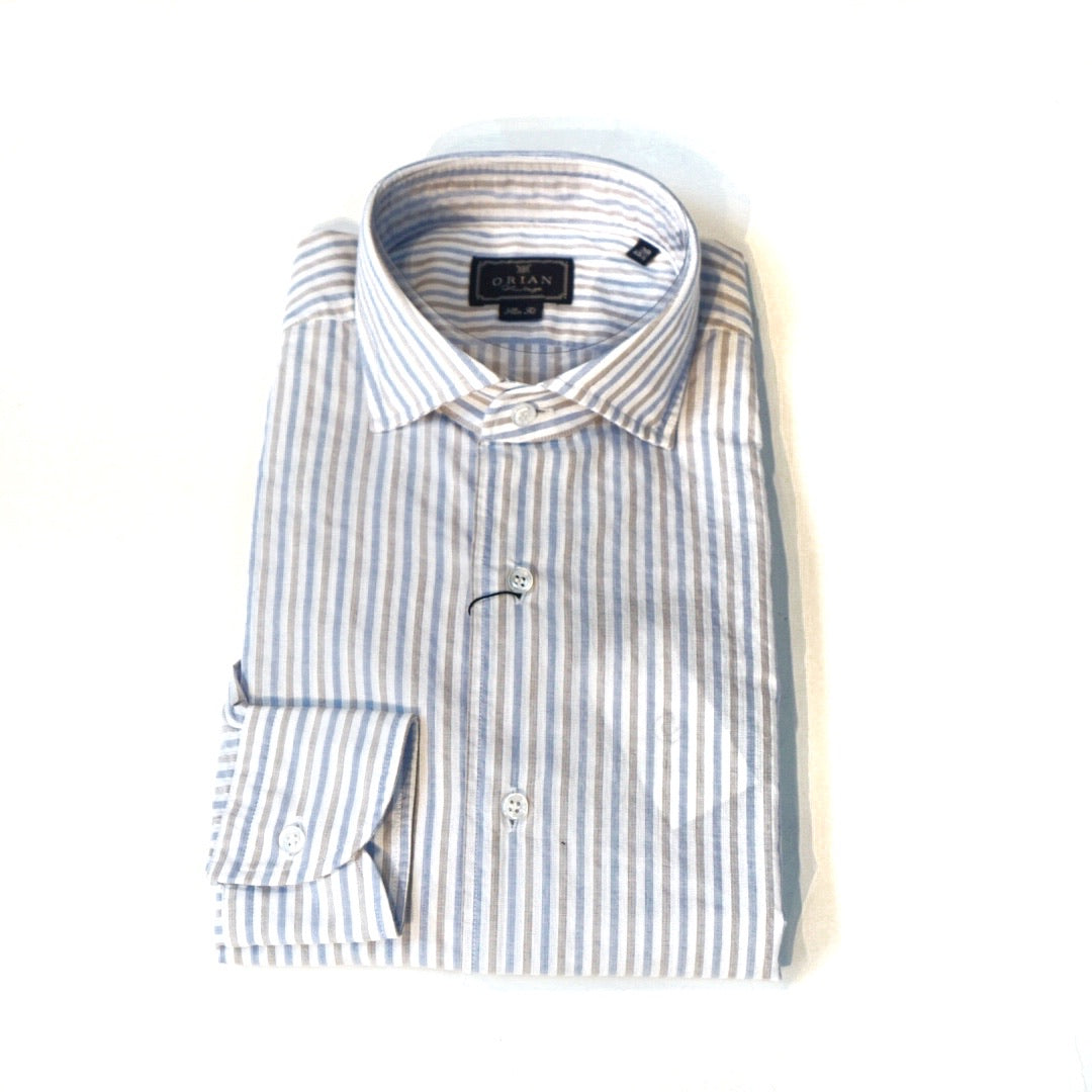 Orian Striped Shirt; 02R514