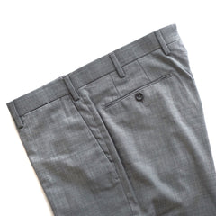 United Arrows Light Grey Wool Pants
