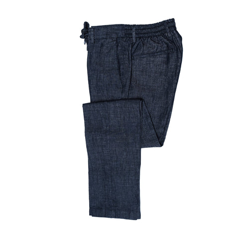 Germano Denim Blue Travel Pants ; 42BG