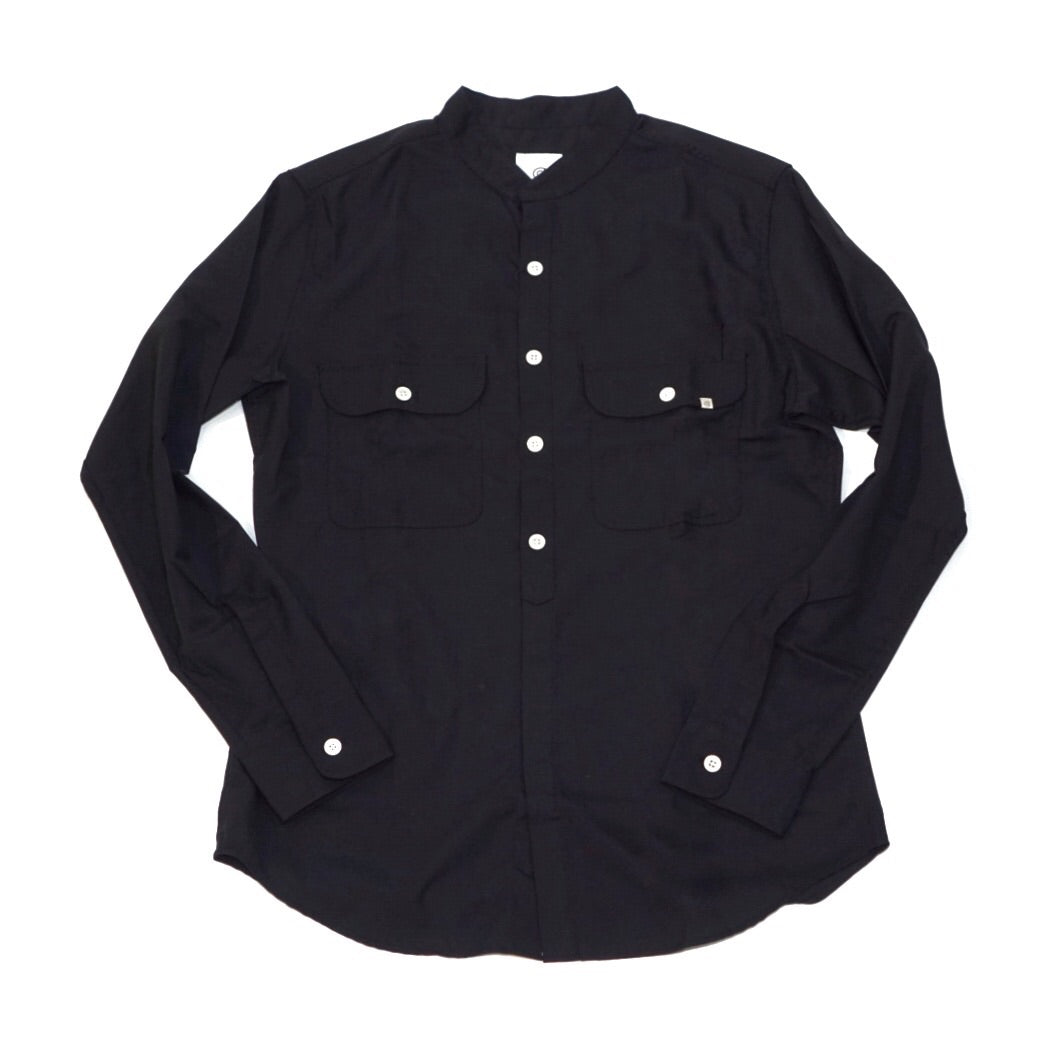 Colony Clothing Mandarin Collar Band Shirt