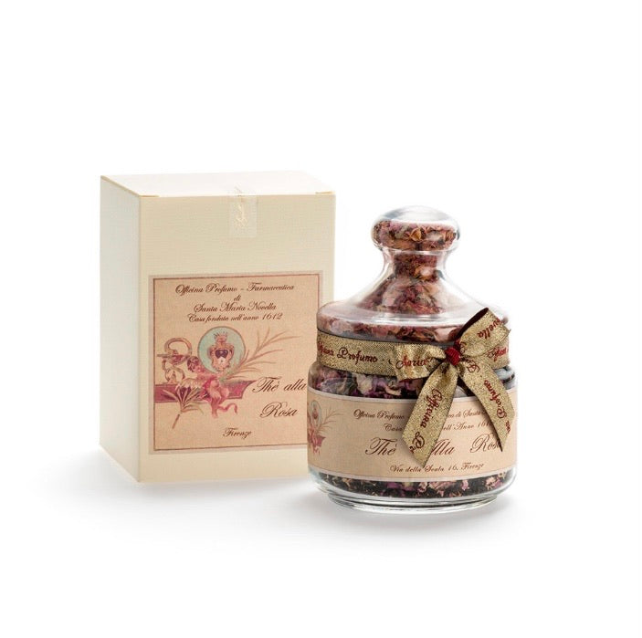 Santa Maria Novella Rose Tea Glass Jar